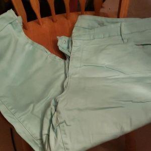 Ana pants teal/ blue